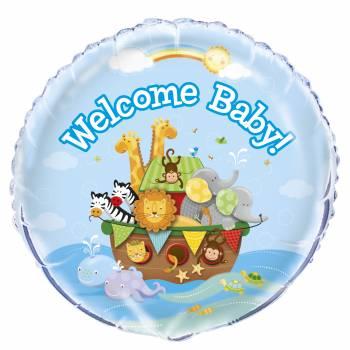 Ballon hélium Baby Arche de Noé