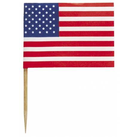 30 pics USA pour l'apéro ou pour décorer vos cupcakes