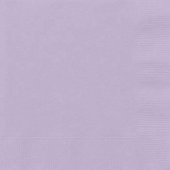 20 Serviettes papier lavande