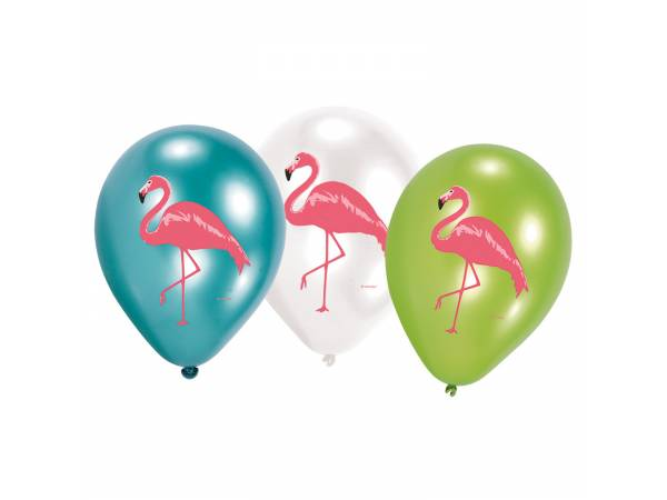 ballons quadri flamant rose