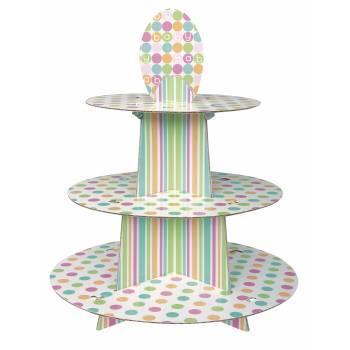 Présentoir cupcakes Baby Pastel