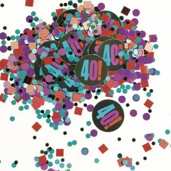 Confettis 40 ans