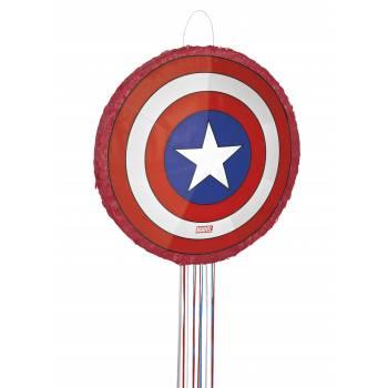 Pinata pull Captain America