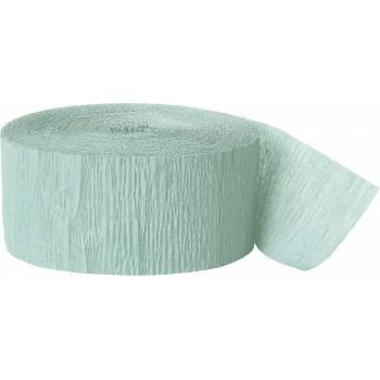 Guirlande papier crépon mint