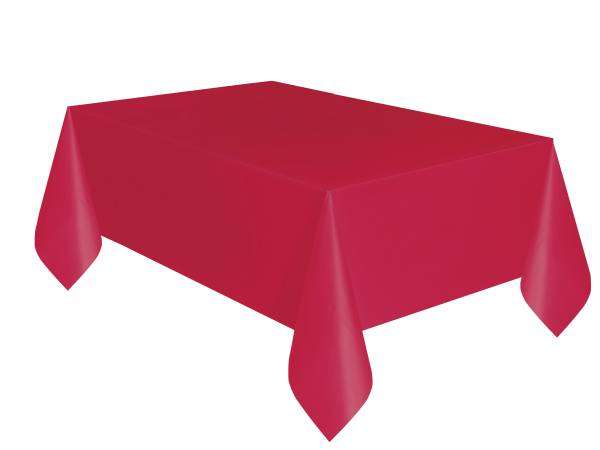 nappe en plastique rouge rectangulaire thema deco. Black Bedroom Furniture Sets. Home Design Ideas
