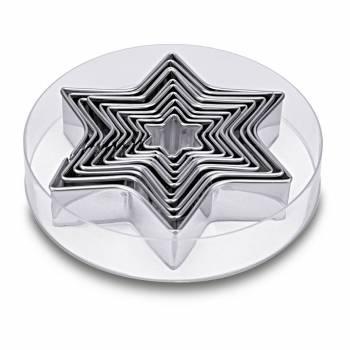 Kit 10 emporte pièces étoiles