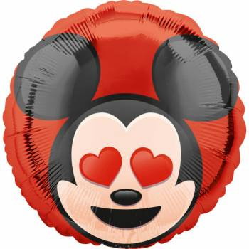 Ballon hellium Mickey emoticon