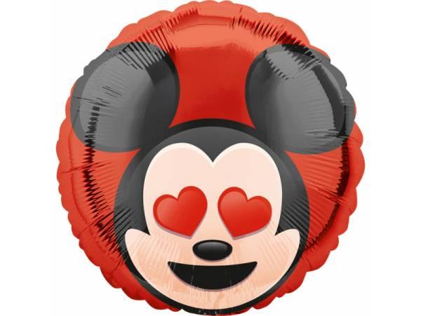 Ballon hellium Mickey emoticon