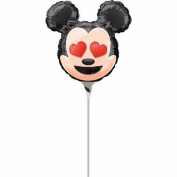 Mini Ballon Mickey emoticon gonflé
