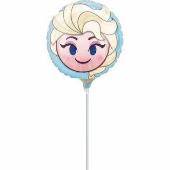 Mini Ballon Reine des Neiges emoji gonflé