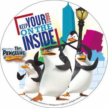 Disque azyme Pingouin de Madagascar 1