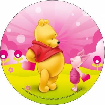 Disque azyme Winnie love Porcinet