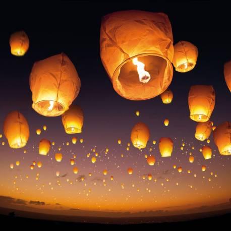Donnez de la féérie à toutes vos soirées avec les lanternes volantes. Dimensions: 38 cm x 96 cm