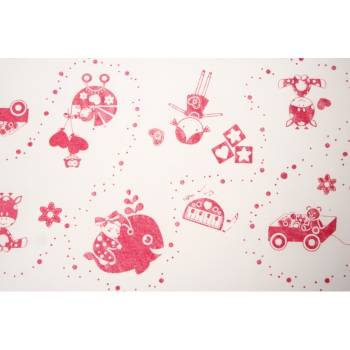 Chemin de table organza Univers fille