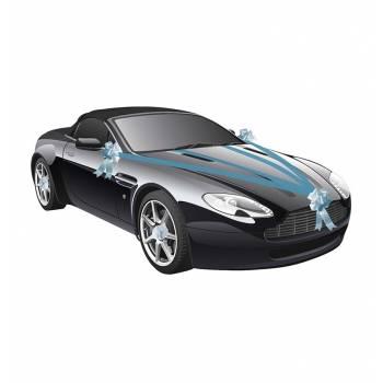 Kit déco voiture turquoise