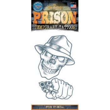 Tattoos crâne revolver