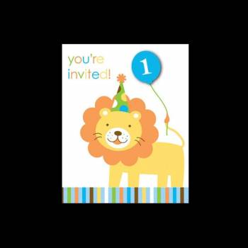 8 Invitations 1 An Jungle