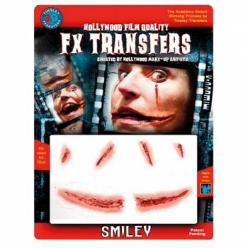 Transfert 3D sourire joker MM