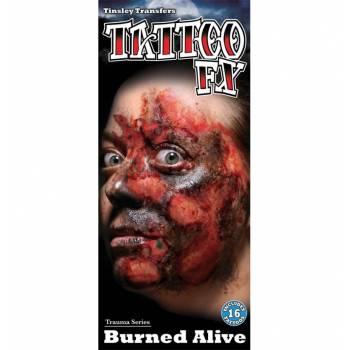 Planche 16 Tattoo brûlures