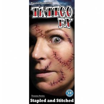 Planche Tattoo points de sutures