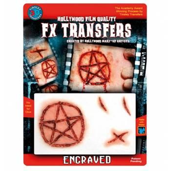 Transfert 3D étoile satanique MM