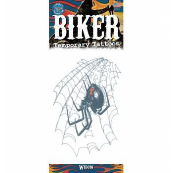 Tattoos Biker veuve noire