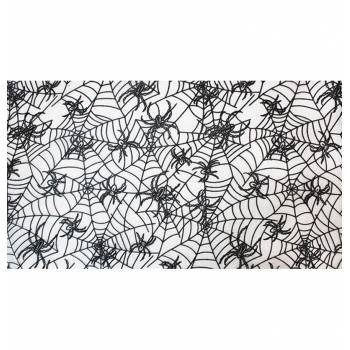 Chemin de table tulle toile d'araignée