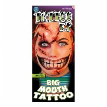 2 Tattoo Big Mouth sadique