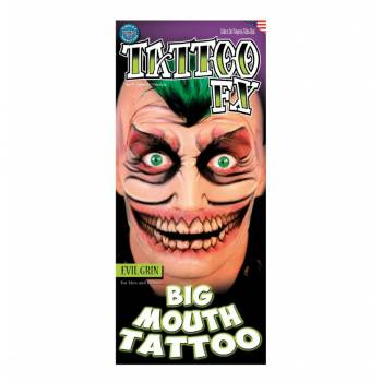 2 Tattoo Big Mouth malfaisant