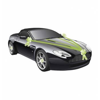 Kit déco voiture vert lime