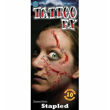 Planche Tattoo plaies agrafees