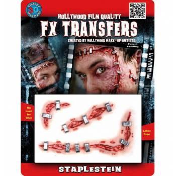 Transfert 3D plaie agrafées MM