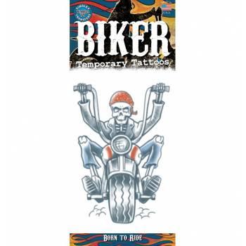 Tattoos Biker squelette