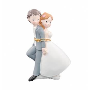Figurine Mariés enchaînés