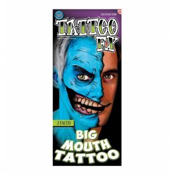 2 Tattoo Big Mouth paralysé