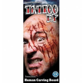 Planche Tattoo entailles satanique