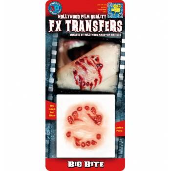 Transfert 3D grosse morsure PM