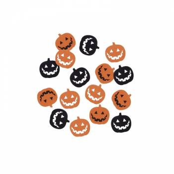 Confettis de table pumpkin party
