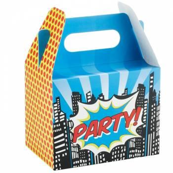 5 Boîtes Superhero Pop Art