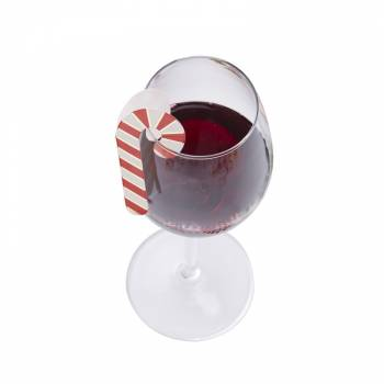 10 Marques verre candy cane