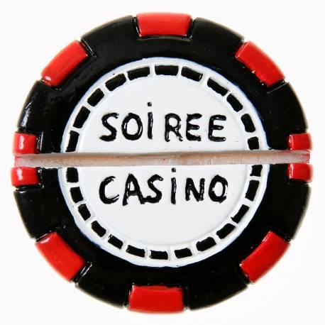 2 Portes nomsjetons de poker Dimensions : Ø5 x 1.5 cm