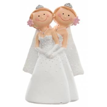 Figurine mariage femme Mme et Mme