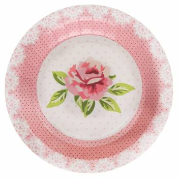 10 Assiettes Shabby