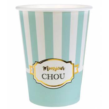 8 gobelets Monsieur Chou