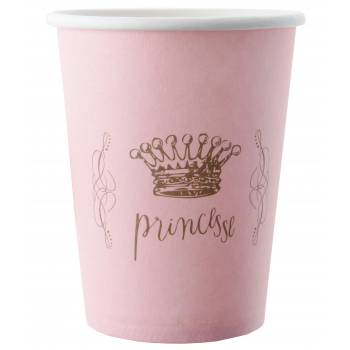 6 Gobelets Princesse