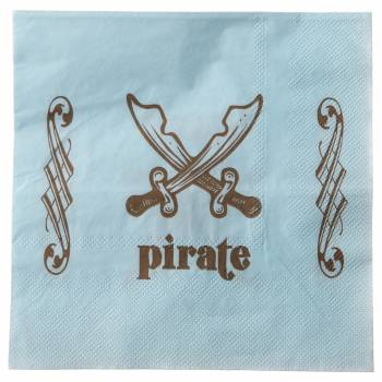 20 Serviettes Petit Pirate