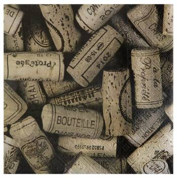 20 Serviettes papier viticole