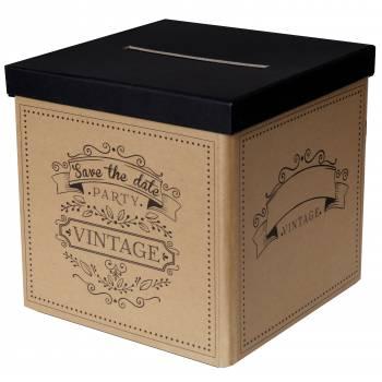 Urne mariage vintage