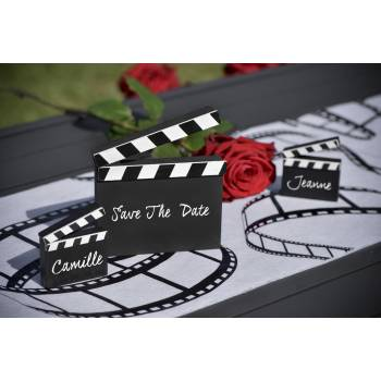 Marque table clap cinéma