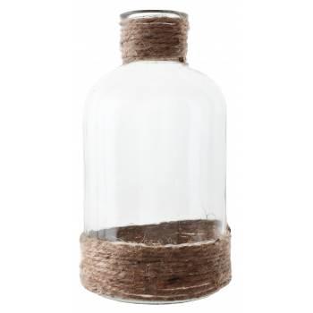 Petit vase corde 15.5cm